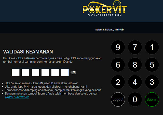 login pokervit, login idnplay, login poker idnplay
